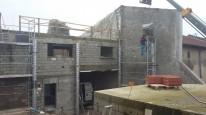 Fabrication de poteau béton de 6m de haut